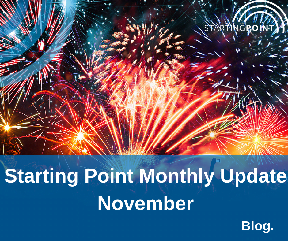Starting Point Monthly Update – November