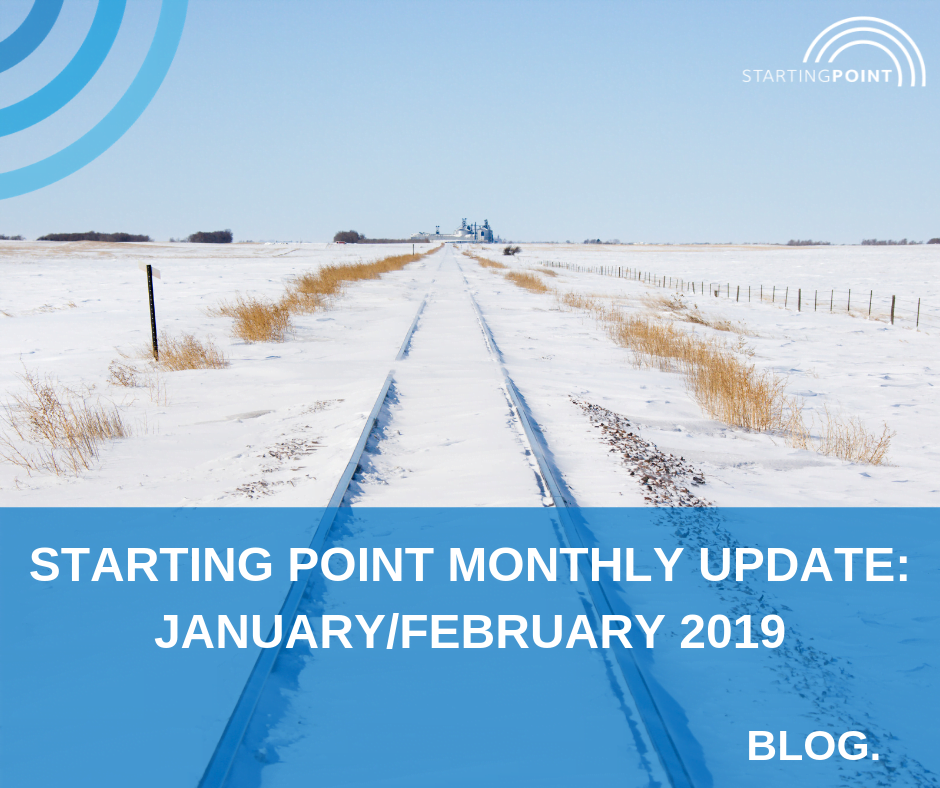 Starting Point Monthly Update – January/February