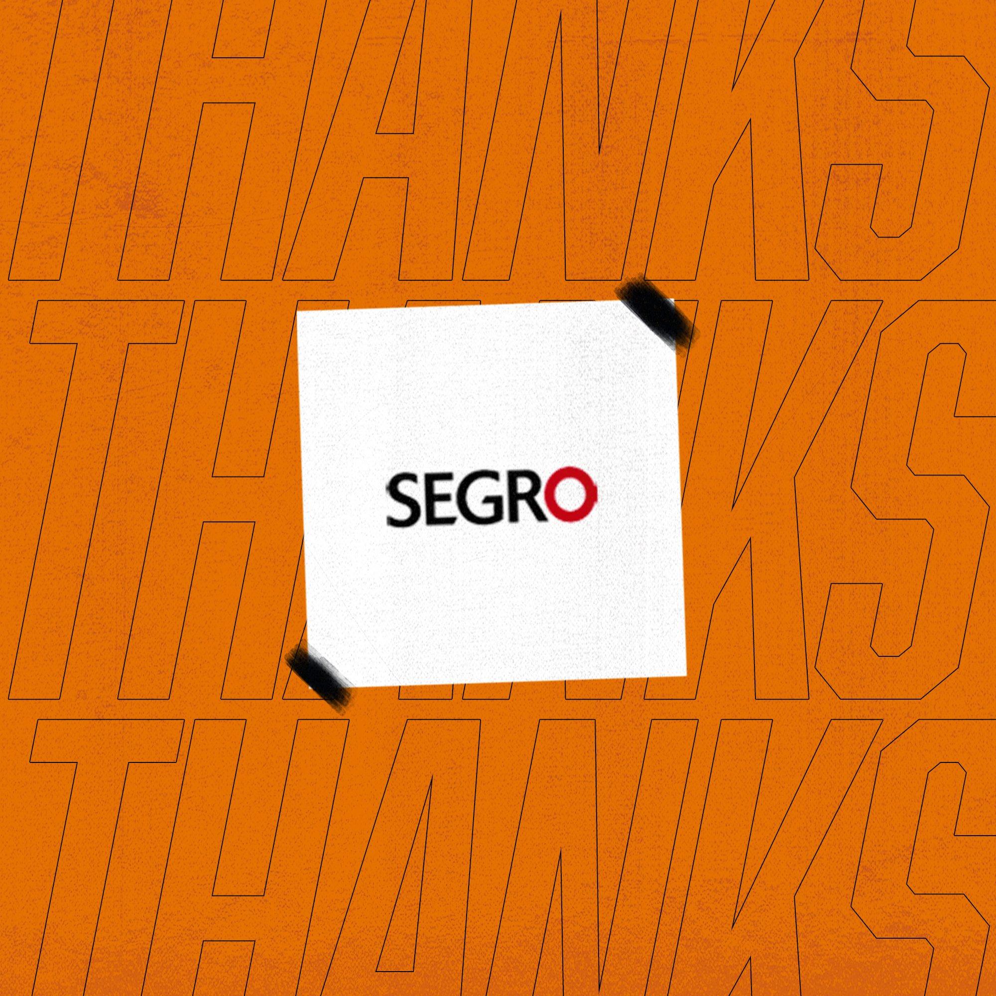 Thank You SEGRO!